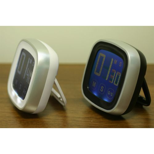 Lcd Touch Screen Kitchen Timer Magnetic Countdown Count Up